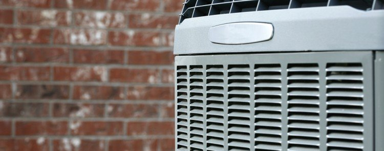outdoor air conditioner unit to protect from theft